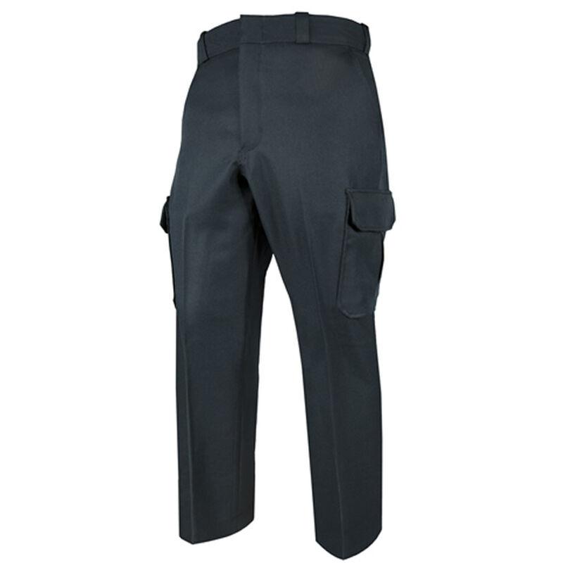 Elbeco TEXTROP2 Men's Cargo Pants Waist 34 Unhemmed Polyester Textured Serge Weave Midnight Navy