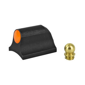 """XS Sight Systems Ember Big Dot Orange Shotgun Requires 0.125"""" to 0.140"""" Diameter Bead With Mossberg Bead Front Sight Matte Black"""