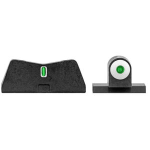 XS Sight Systems DXT Big Dot Night Sights Canik Green Tritium Front/Tritium Rear Matte Black