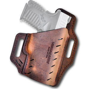 Versacarry Guardian Holster SIG Sauer P365 OWB Right Hand Water Buffalo Leather Distressed Brown