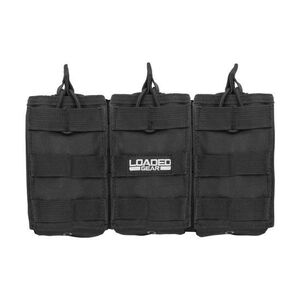 Barska Loaded Gear CX-200 Triple Magazine Pouch Black BI12246