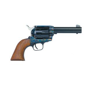 "EAA Bounty Hunter Single Action Army Revolver .357 Magnum 4.5"" Barrel 6 Rounds Steel Frame Walnut Grips Fixed Sights Color Case Hardened Finish 770065"