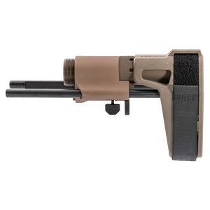 Maxim Defense CQB Pistol PDW Brace Slick Side No QD for AR-15 Pistols Flat Dark Earth
