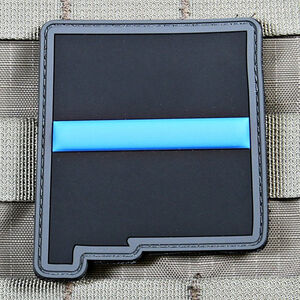 "Violent Little Machine Shop ""Thin Blue Line"" State of New Mexico Morale Patch"