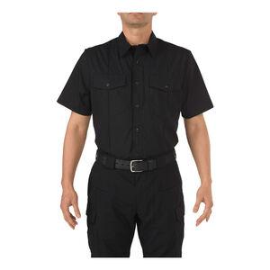 5.11 Stryke Class-B PDU Short Sleeve Shirt Size Small Regular Midnight Navy
