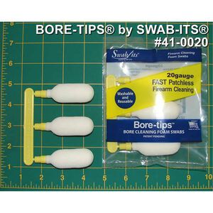 Swab Its by Super Brush 20 Gauge Bore Tips 3 Pack 41-0020