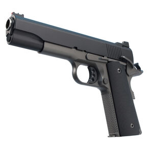 "Ed Brown 18 Special Forces Semi Auto Pistol .45 ACP 5"" Barrel 7 Rounds Fiber Optic Front/U-Notch Rear Sights Chainlink III Treatment Stealth Grey Finish"