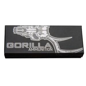 Gorilla Ammunition .223 Remington Ammunition 20 Rounds 62 Grain Solid Copper Lehigh Controlled Chaos Lead Free Projectile 2700fps
