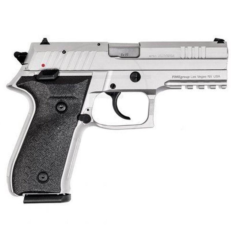 "FIME Group Rex Zero 1S Semi Auto Pistol 9mm Luger 4.3"" Barrel 17 Rounds Metal Frame Nickel Finish"