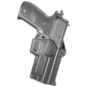 Fobus Holster Sar B6/SIG P220,P226/S&W 3913,5906,6906 Right Hand Belt Attachment Polymer Black